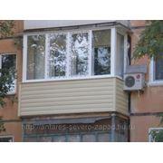 Остекление балконов в кредит фото