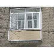 Алюминиевое остекление балконов и лоджий фото