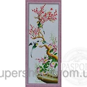 Набор для вышивки картины Птицы на сакуре 91х40см 373-37010682 фото