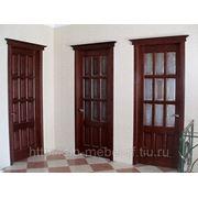 Межкомнатные деревянные двери № 4 фото