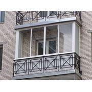 Остекление алюмитнием балконов и лоджий фото