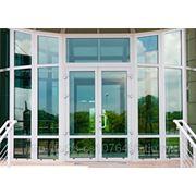 Витражи - Алютех (витражи, перегородки, окна, двери) фото