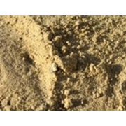 Сухой фракционный песок фото