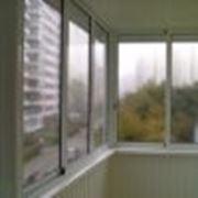 Алюминиевые балконы фото