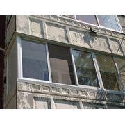 Остекление балконов в новой планировке(П-образный) фото