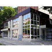 Алюминиевые фасады, витражи фото