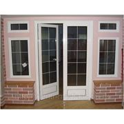 Двери из ПВХ и Алюминия фото