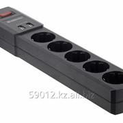 Сетевой фильтр Defender DFS 451 5 розеток - 1.8 м защита от ВЧ и импульсных помех - USB зарядка фото