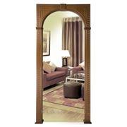 Шпонированная дверная арка Греция фото
