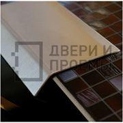Отделочный профиль из нержавеющей стали и латуни фото
