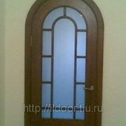 Дверь арочная фото