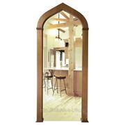 Шпонированная дверная арка Алладин фото