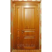 Дверь межкомнатная из массива дуба