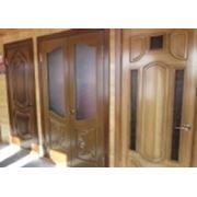 Двери из массива сосны, лиственницы фото