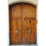 Дверь входная из массива
