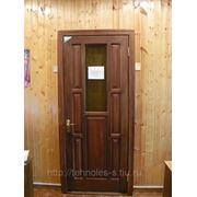 Дверной блок остекленный, модель № 2 - О 2070*770 фото