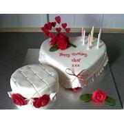 Торт юбилейный фото