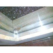 Оконный блок банный (сосна) 500*500*105 2 стекла фото