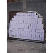 Кирпич белый силикатный фото