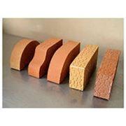 Кирпич керамический одинарный полнотелый. фото