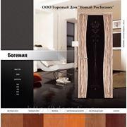 Филенчатые двери из массива сосны Богемия