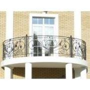 Балконные ограждения фото
