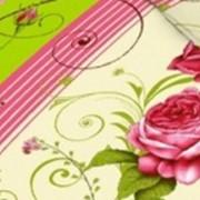 Ткань постельная Бязь 100 гр/м2 150 см Набивная Ренессанс салатовый/S536 TDT фото