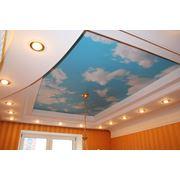Потолки подвесные натяжные фото