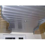 Потолки реечные подвесные фото