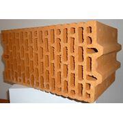 Крупноформатные керамические блоки Porotherm 25 фото