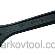 Ключ разводной - фосфатированый MASTERTOOL 76-0222 фото