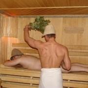 Русская баня с парной. фото