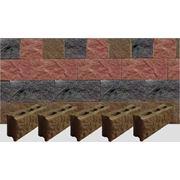 Стеновой блок облицовочный колотый фото