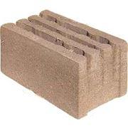 Камни стеновые из опилкобетона керамзитобетона пескобетона фото