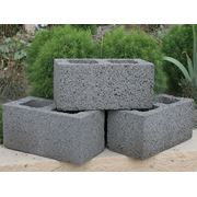 Блоки керамзитобетонные фото