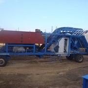 Мобильный бетонный завод YHZS 25 в наличии фото