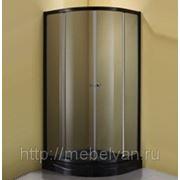 Душевой уголок STURM GALLERY 100х100 (черный) фото