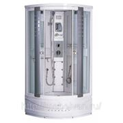 Душевая кабина Oporto Shower 8701 grey (90х90) фото