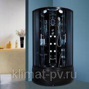 IKA E-1211G/8041 Душевая кабина 90*90 черная с радио фото