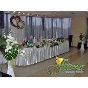 Оформление свадебного банкета фото
