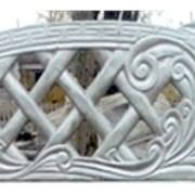 Еврозабор глянцевый Ажур универсальный фото