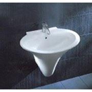 Раковина Scultura 77 c полупьедесталом фото