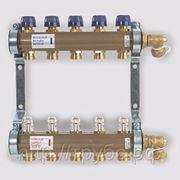 Коллектор в сборе на 1' серии HKV-Т с расходомерами, 5 выходов, Ваттс WATTS (Германия) фото