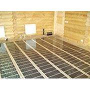 Пленочный теплый пол под ламинат, линолеум, плитку на основе инфракрасной нагревательной пленки. фото