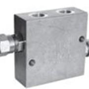 Предохранительный гидроклапан: клапан VMDI 35 и клапан VBDC 35 (сдвоенный блок предохранительных клапанов) фото
