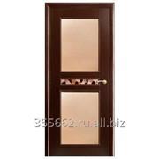 Межкомнатная дверь Ника (венге) фото