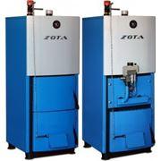 Котел твердотопливный ZOTA Mix 20 кВт (комбинированный) фото