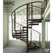 Лестница винтовая из металла фото