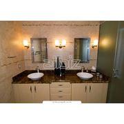 Мебель для ванных комнат из натурального ясеня фото