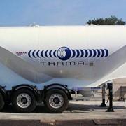Полуприцеп цементовоз для сыпучих грузов фото